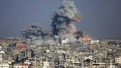 Bojovi diji v Hazi tryvajuť z 8 lypnia